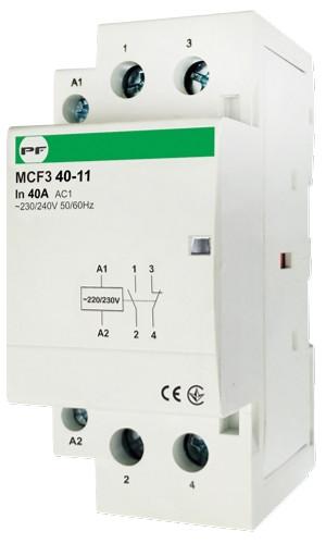 Модульный магнитный пускатель MCF3 40-11 230V