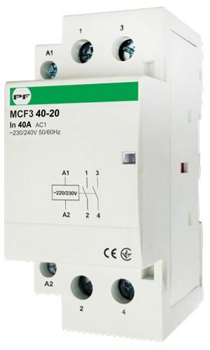 Модульний магнітний пускач MCF3 40-20 230V