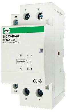 Модульний магнітний пускач MCF3 40-20 230V, фото 2