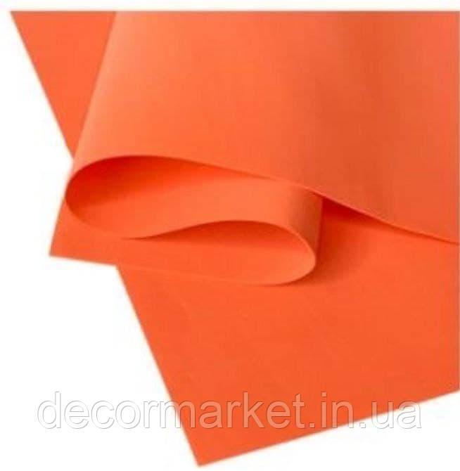 Фоамиран 1мм иранский сочная морковь 50х50см