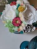 Букет из сухоцветов, стабилизированных цветов., фото 4
