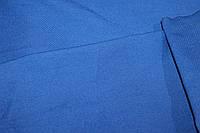 Ткань бенгалин, сильный стрейч! Цвет синий насыщенный, фото 1