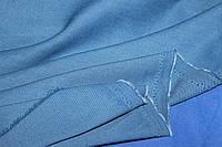 Тканина бенгалін, сильний стрейч! Джинсове плетіння нитки. колір синій
