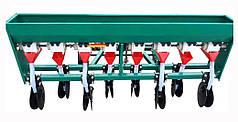 Сеялка зерновая для мотоблока, мототрактора 8 рядная дисковая