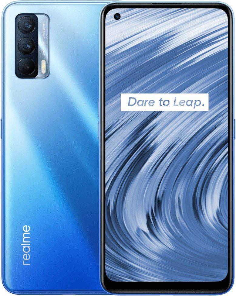 Смартфон Oppo Realme V15 6/128 Gb Blue MediaTek Dimensity 800U 4310 маг