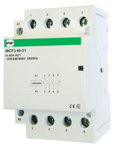 Модульный магнитный пускатель MCF3 40-31 230V