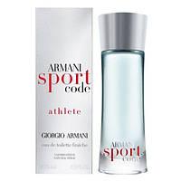 Оригинал Giorgio Armani Code Sport Athlete 125ml edt Джорджио Армани Код Спорт Атлет