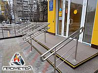 Роздільники потоку для центрального входу з нержавіючої сталі під замовлення в Бердянську Запорізької області, фото 1