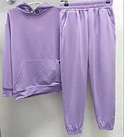 Стильный спортивный подростковый костюм-худи и джогеры с 6-ти до 14 лет