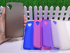 Силиконовый TPU чехол для LG Nexus 5 D820