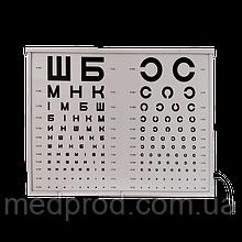 Аппарат Ротта полногабаритный осветитель таблиц с указкой и окклюдером, корпус металл