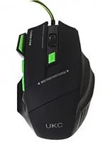 Ігрова мишка UKC GAMING MOUSE 7D з килимком Комп'ютерна ігрова мишка з LED підсвічуванням, фото 2