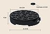 Апарат для пончиків DSP KC1151 електричний чорний | Мультимейкер для кейк попсов 1000 Вт, фото 6