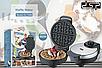 Вафельница DSP KC1048 для бельгийских вафель   сэндвичница электровафельница   Аппарат для тонких вафель, фото 6