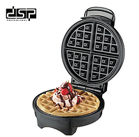 Вафельница DSP KC1048 для бельгийских вафель | сэндвичница электровафельница | Аппарат для тонких вафель, фото 1