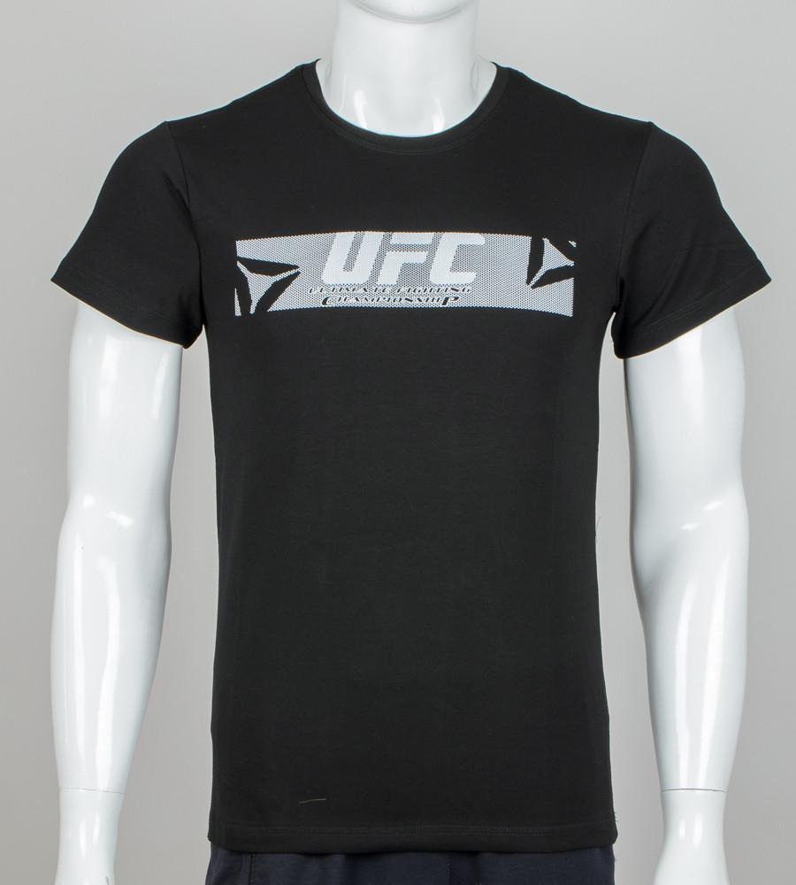 Футболка чоловіча UFC (0913м), Чорний