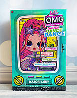 L.O.L. Surprise! Кукла ЛОЛ ОМГ Леди-Крутышка LOL Surprise OMG Dance Major Lady 117889