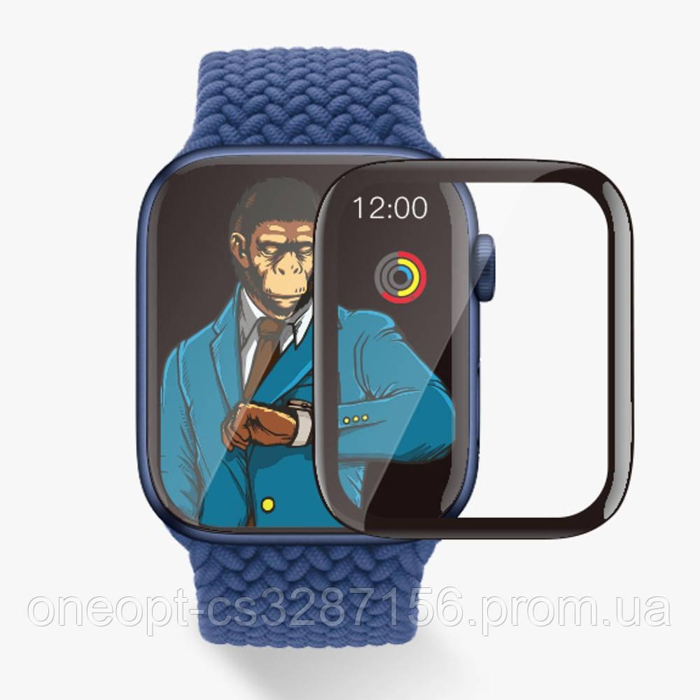 Защитное стекло 2.5D 0,26mm BLUEO для Apple watch 4/5 44MM Black