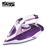 Утюг DSP KD1070 паровой с керамической подошвой 2200 Вт, фото 2