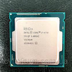 Процессор Intel Core i7 4790 4(8)x4.0GHz 8 потоків s1150 бу робочий для ПК