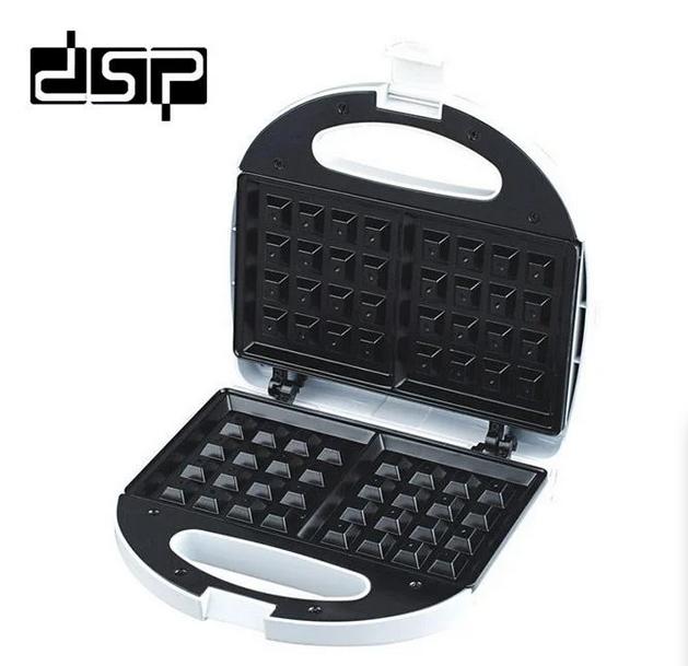 Вафельниця DSP КС1058 електрична біла | сэндвичница электровафельница для бельгійських вафель