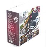 Вафельниця DSP КС1058 електрична біла | сэндвичница электровафельница для бельгійських вафель, фото 4