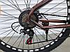 ✅ Горный Стальной Велосипед TopRider 26 Дюйм 550 Рама 15 Коричневый SHIMANO, фото 3