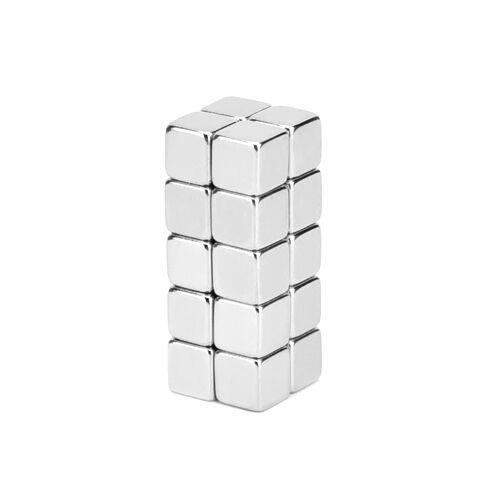 Неодимові магніти сильні 5х5х5мм N35 10шт
