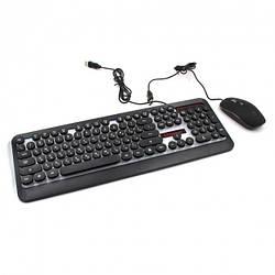 Клавиатура с мышкой UKC HK-3970 (с подсветкой)