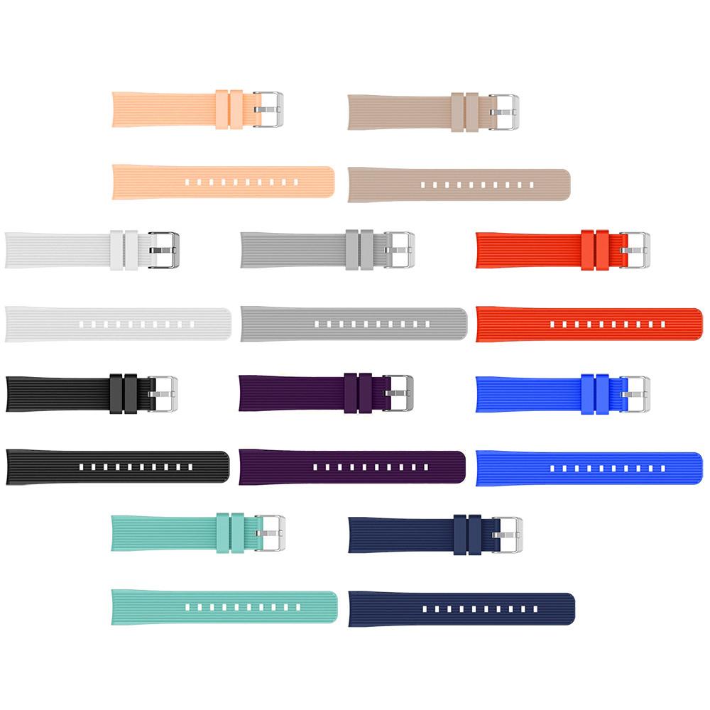 Силиконовый ремешок для часов на Samsung Galaxy Watch Active 2 40mm 20мм