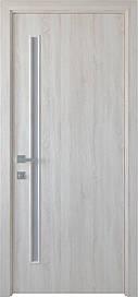 Двері Новий Стиль Глорія скло сатин ПВХ DeLuxe, Ясен New, 700