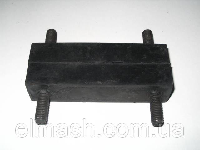 Подушка опоры двигателя ГАЗ 2410, 3302 задняя (пр-во БРТ)