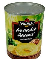 Консервированные ананасы HAME 567 гр.