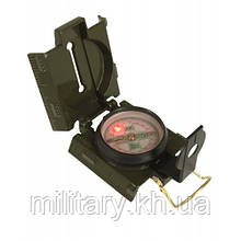 Компас армейский металлический US (светодиодная подсветка), [182] Olive