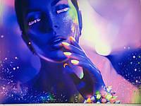 Флуоресцентні картини на тканини, фото 1