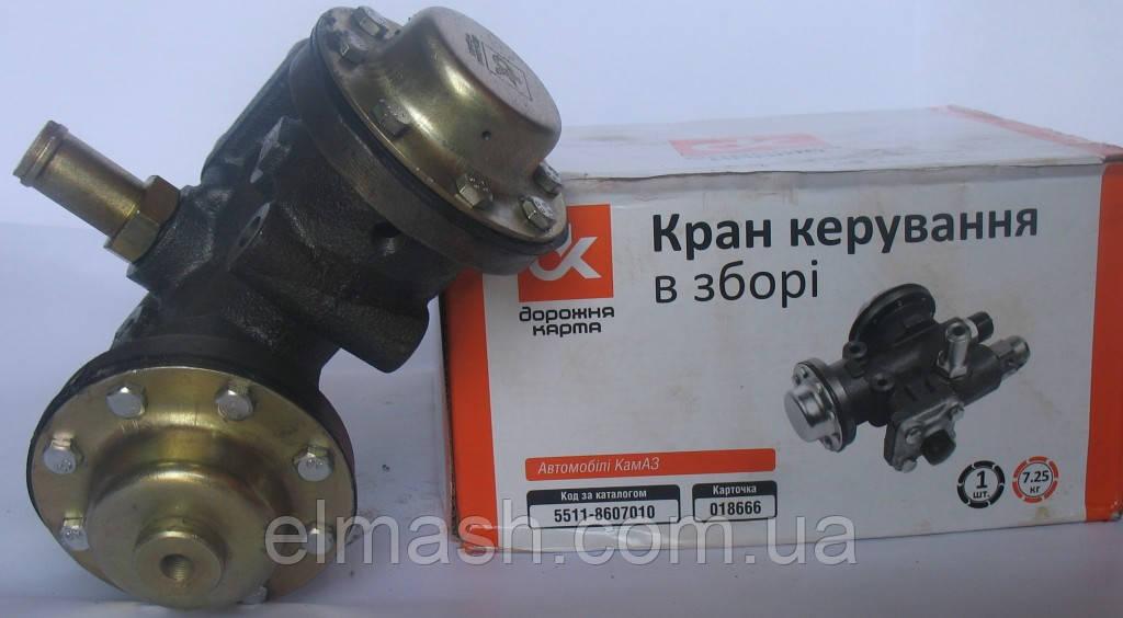 Кран управления подъёма платформы в сборе КАМАЗ
