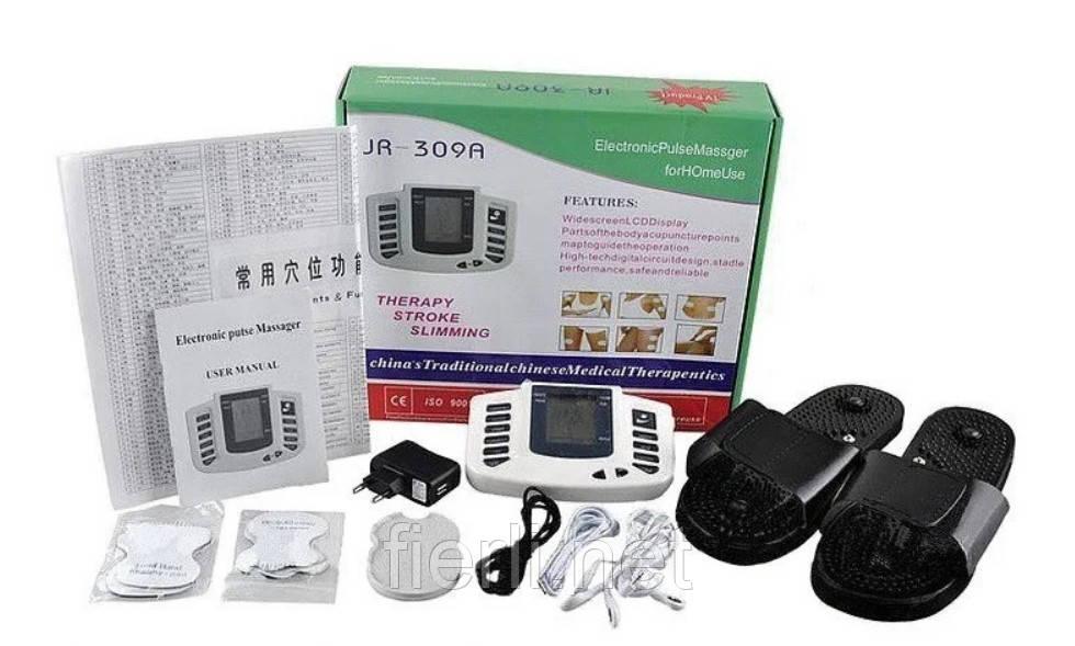 Электронный массажер миостимулятор JR-309  ( русский язык )