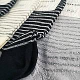 Короткие женские носки с блестящими полосками, фото 2