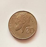 20 центів Кіпр 1994 р., фото 1