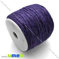 Шпагат пеньковый, Фиолетовый, 2 мм, 1 м (LEN-013481)