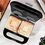 Бутербродница CECOTEC Rock'nToast Sandwich Squared (CCTC-03054), фото 2