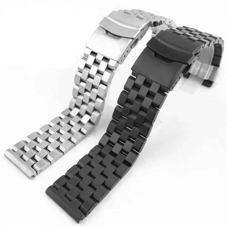 Змінний ремінець з нержавіючої сталі для Samsung Galaxy Watch Active 2 40mm 20 мм