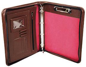 Деловая папка из натуральной кожи Portfolio Коричневый (Port1003 brown)