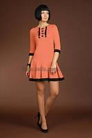 Женское трикотажное платье. 806 Sergio Stefanо