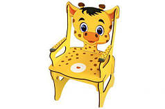 """Стульчик детский """"Жираф"""" деревянный"""