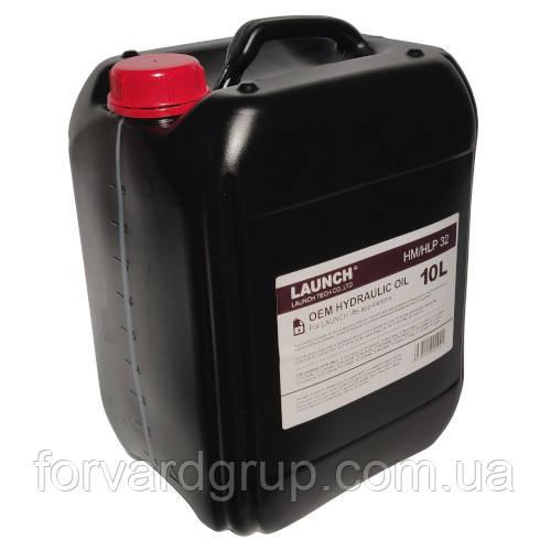 Масло гидравлическое 10л  HM/HLP 32 OEM Hydraulic Oil for LAUNCH lifts  MG-OEM