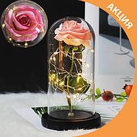 Роза в колбе / вечная роза / стабилизированная роза / оригинальный подарок!