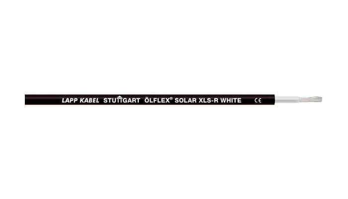 Кабель для солнечных батарей Olflex Solar XLS-R 1x4 WH/BK (0023137)