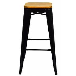 Кресло металлическое Bonro B-234W черное матовое
