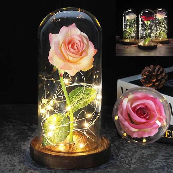 ✨ Роза в стеклянной колбе / Вечная роза / Подарок Роза в колбе ✨